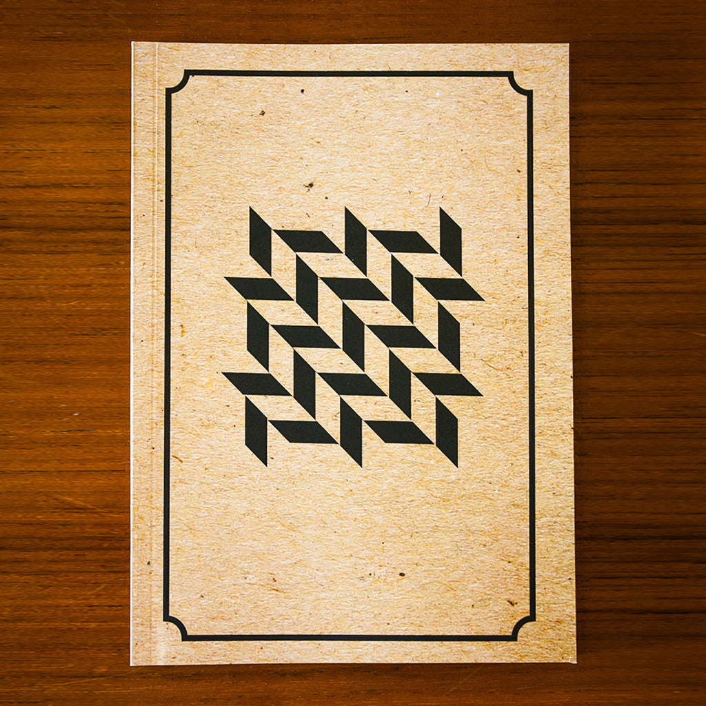 Kraft Monochrome Printed Journal BW09
