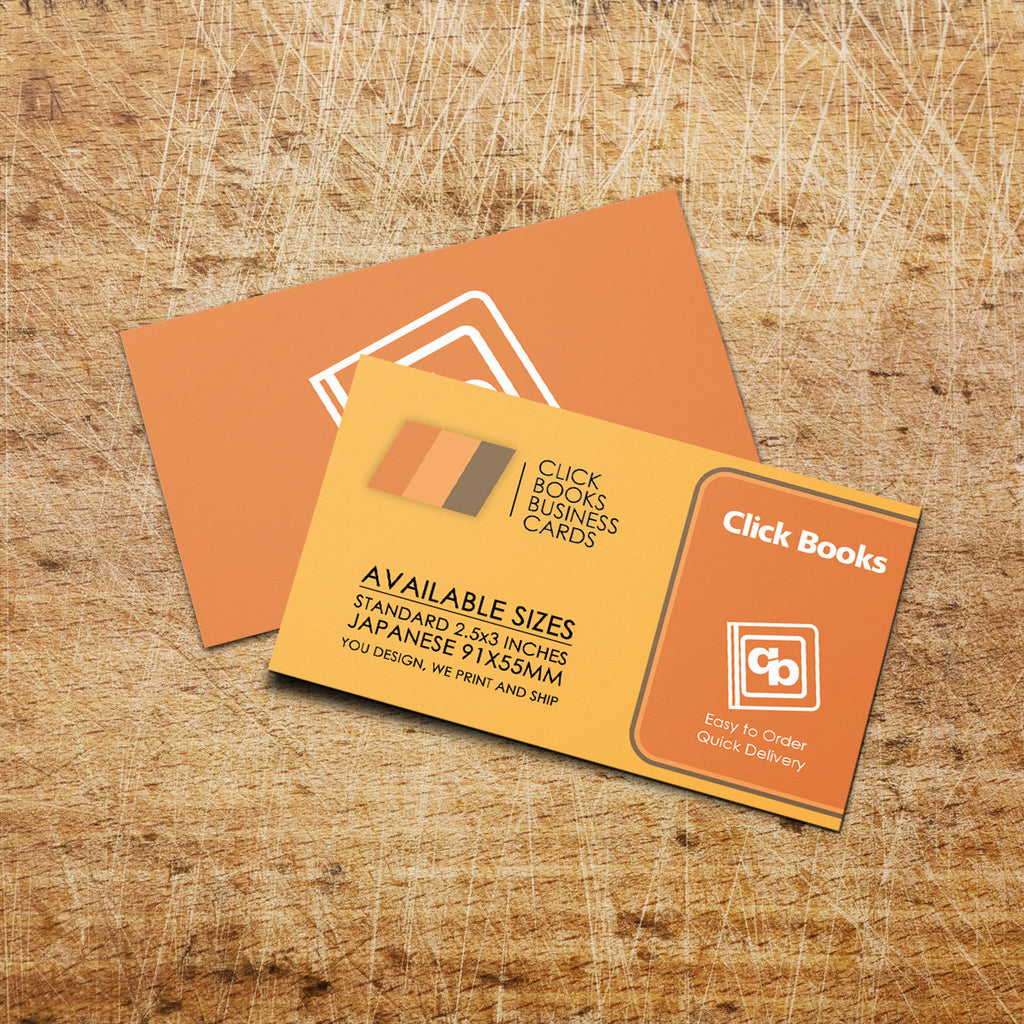 Business Cards – Click Books