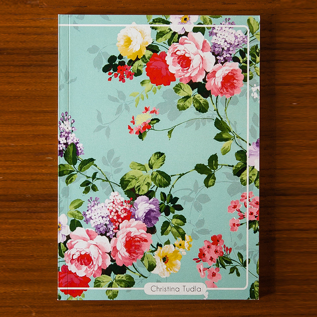 Floral Printed Journal F01