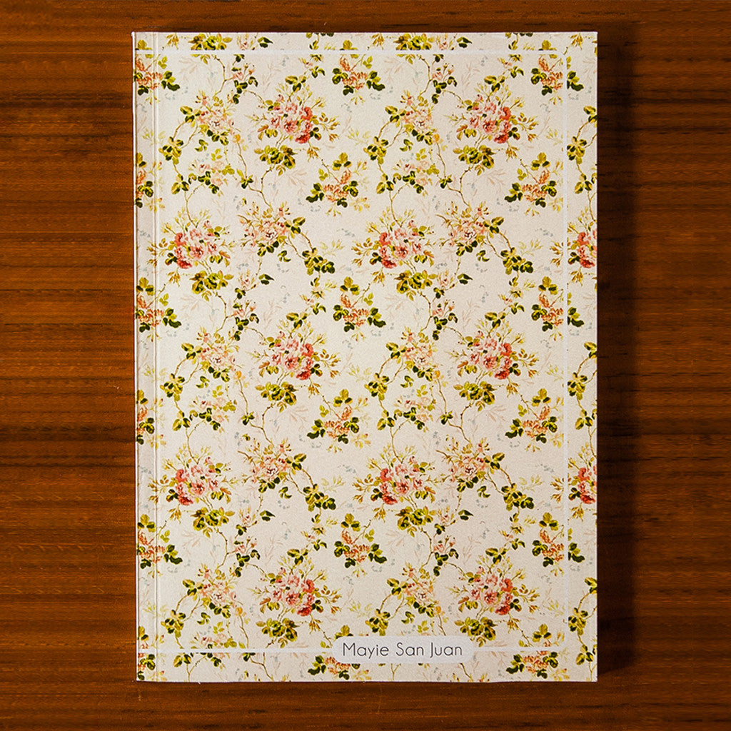 Floral Printed Journal F04