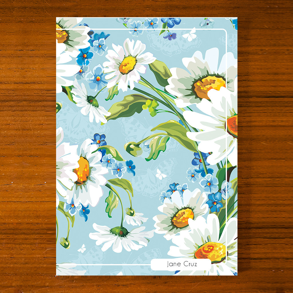Floral Printed Journal F09