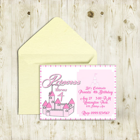 "5""x7"" Birthday Invitation BI-36"