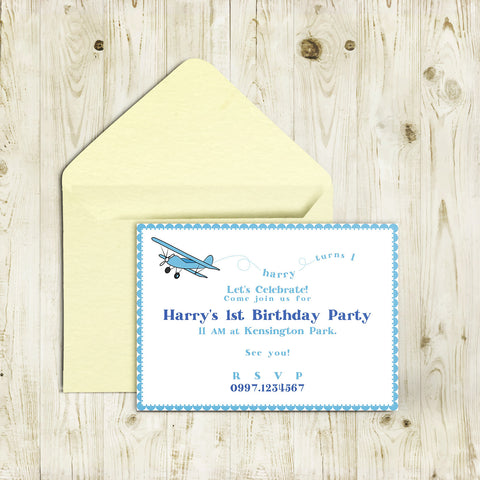 "5""x7"" Birthday Invitation BI-50"