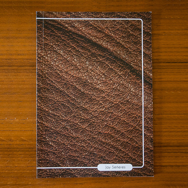 Leather Printed Journal L03