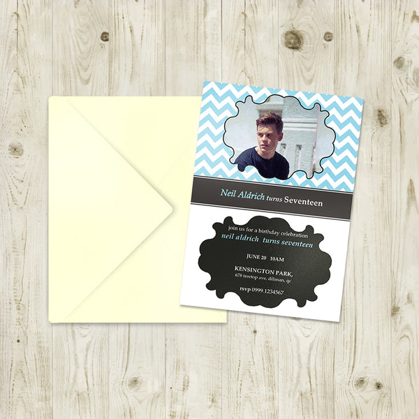 "5""x7"" Birthday Invitation BI-05"