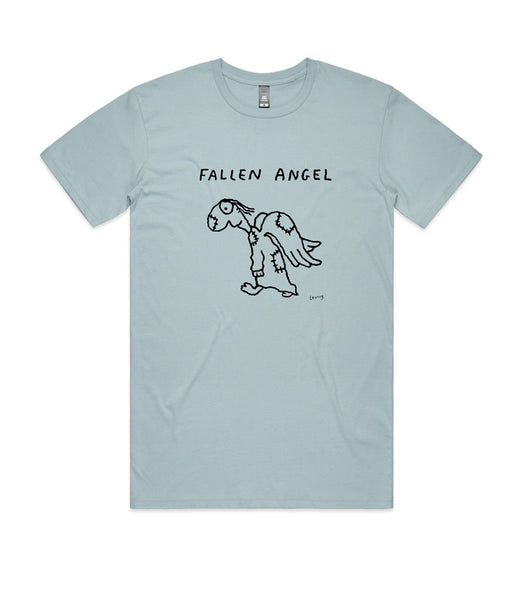 Fallen Angel - pale blue tee
