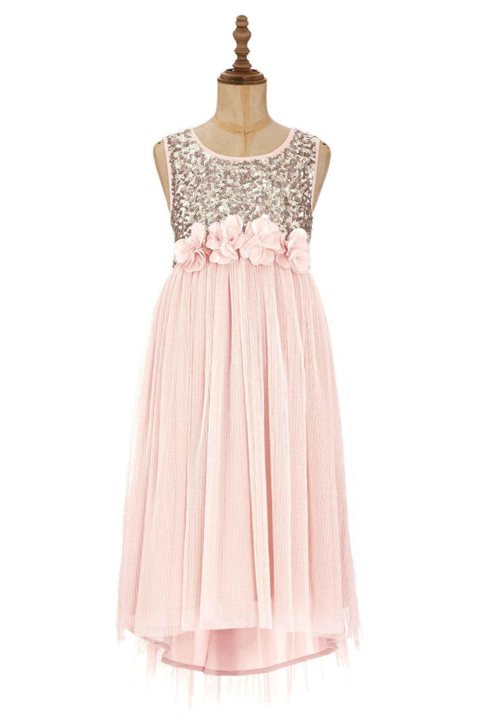 Blush Junior Bridesmaid Dress