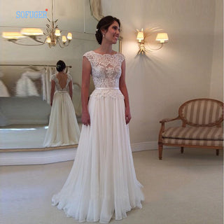 Chiffon Bridal Dress