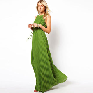 Chiffon Floor Length Maxi Dress