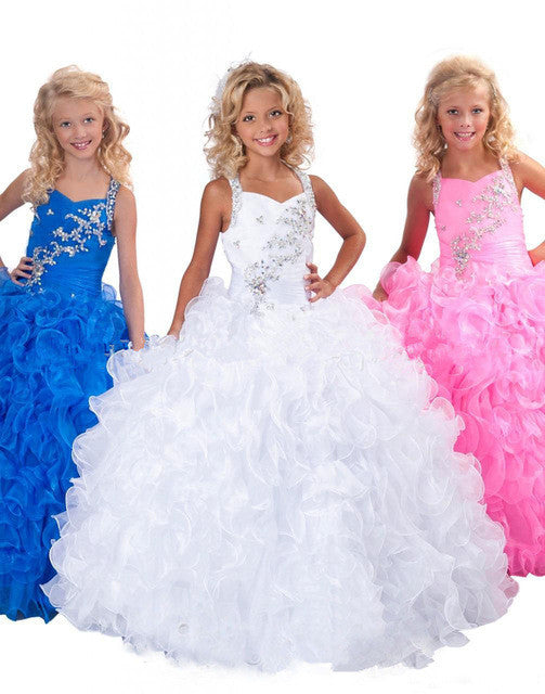 Princess Children Party Ball Gown