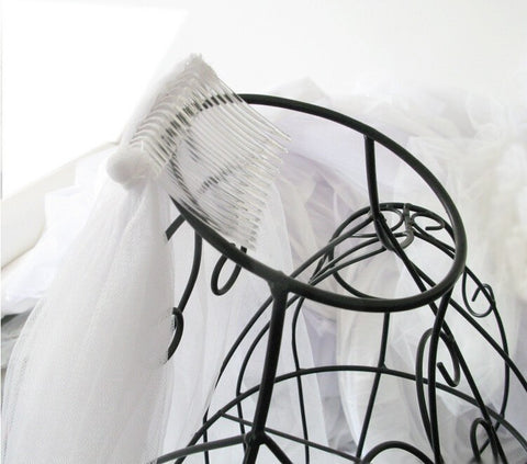3 Meters Long Soft Wedding Veil w/ Comb