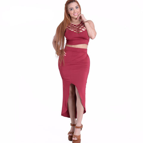 Two Piece Night Club Dress