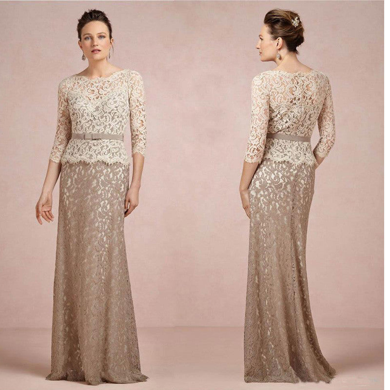 Lace Mermaid Long Evening Dress