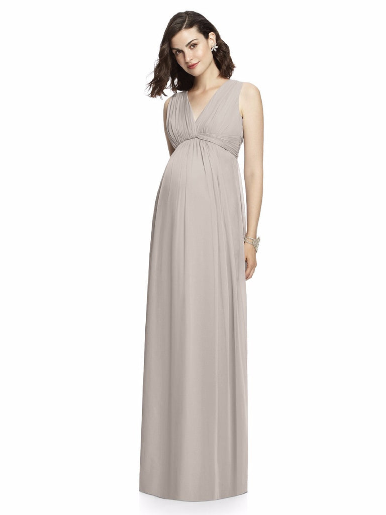 Chiffon maternity bridesmaid dress jadasbridalandformal chiffon maternity bridesmaid dress ombrellifo Gallery