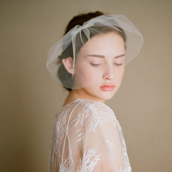 Birdcage Face Cover Wedding Veil