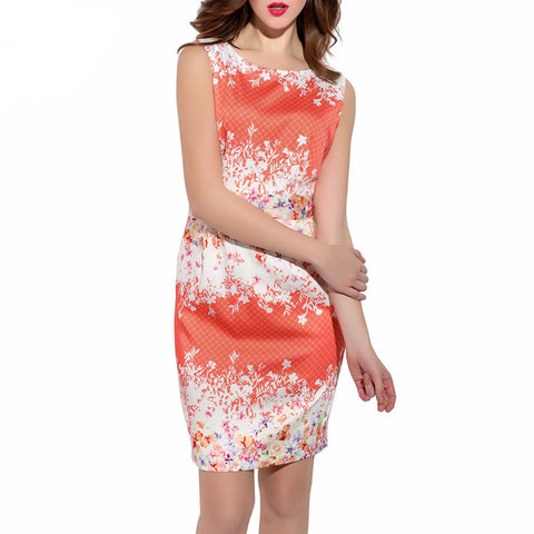 Above Knee Slim Day Dress