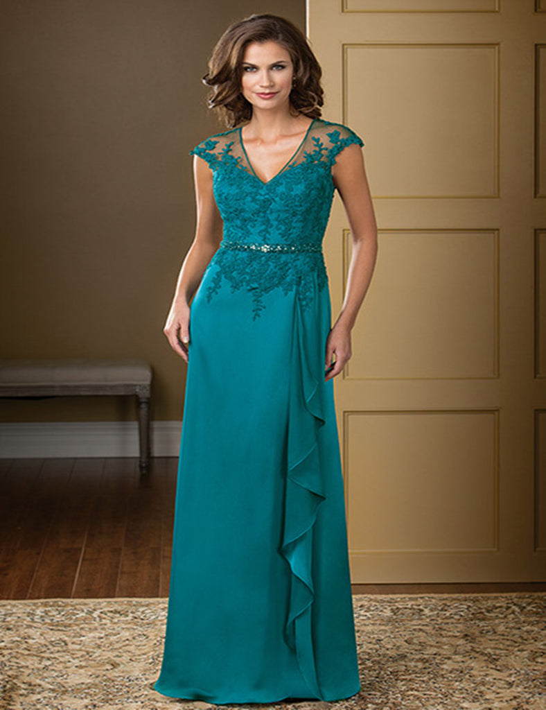 Elegant Chiffon Evening Dress