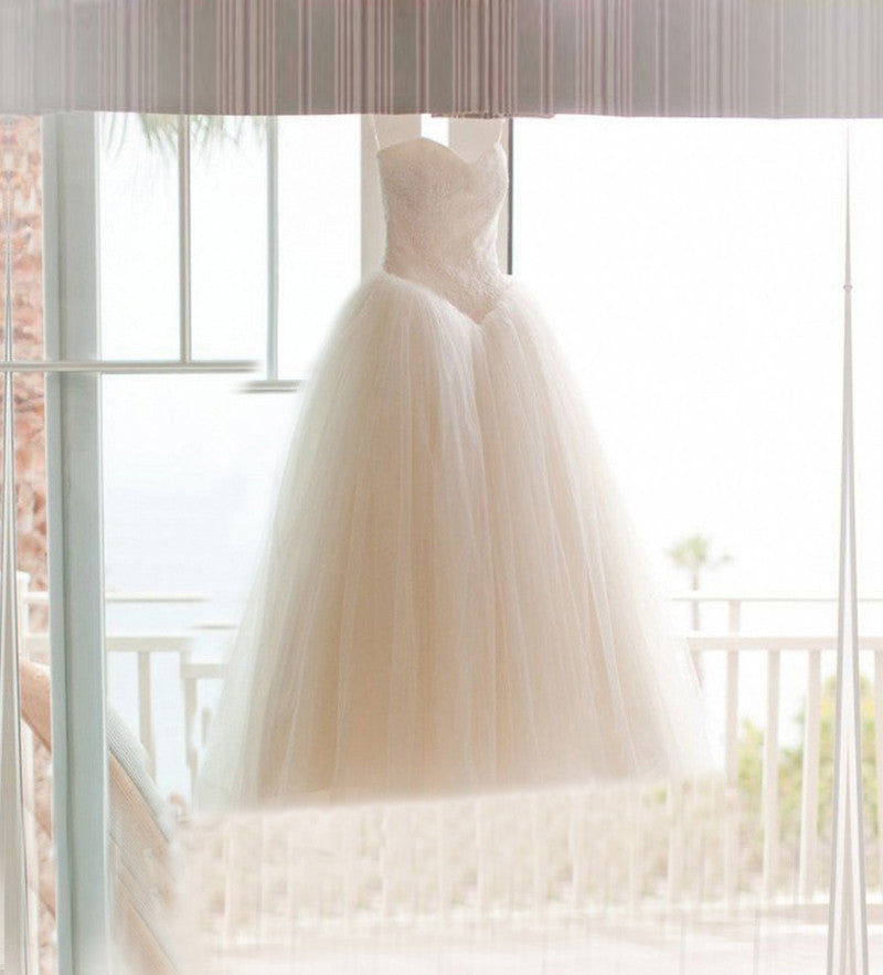 Wedding Gown w/Lace Bodice