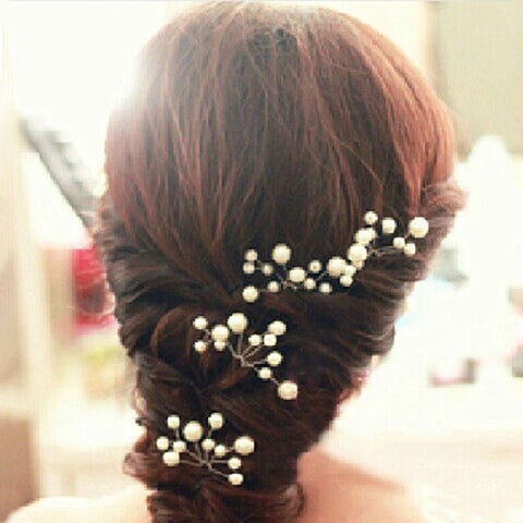 6 Pcs Bridal Hair Pins