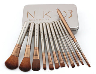 12pcs/set Professional Makeup Brush Kit