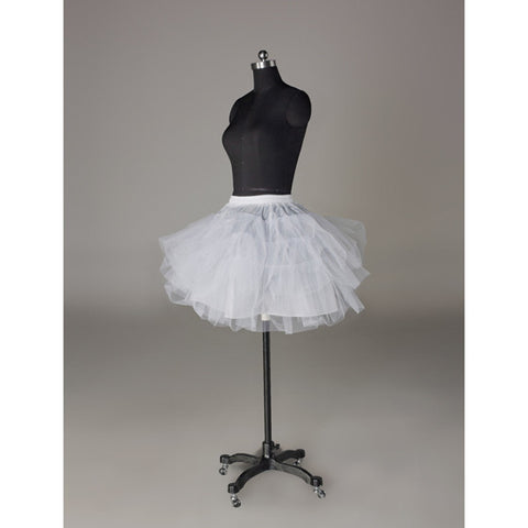 White Petticoat Slip With No Hoop