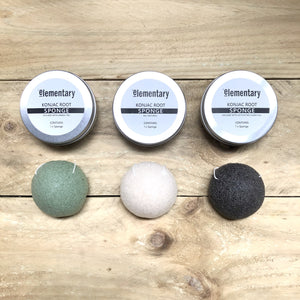 SPONGE | Natural Konjac Cleansing Sponge - KISS Skin Care | Australia, Bath & Shower Products