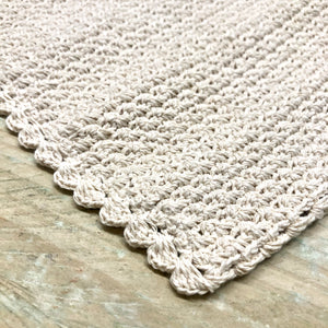 BODY | Crocheted Cotton Wash Cloth
