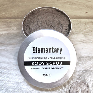 SCRUB | Exfoliating Real Ground Coffee & West Indian Lime - KISS Skin Care | Australia, Scrubs & Exfoliants