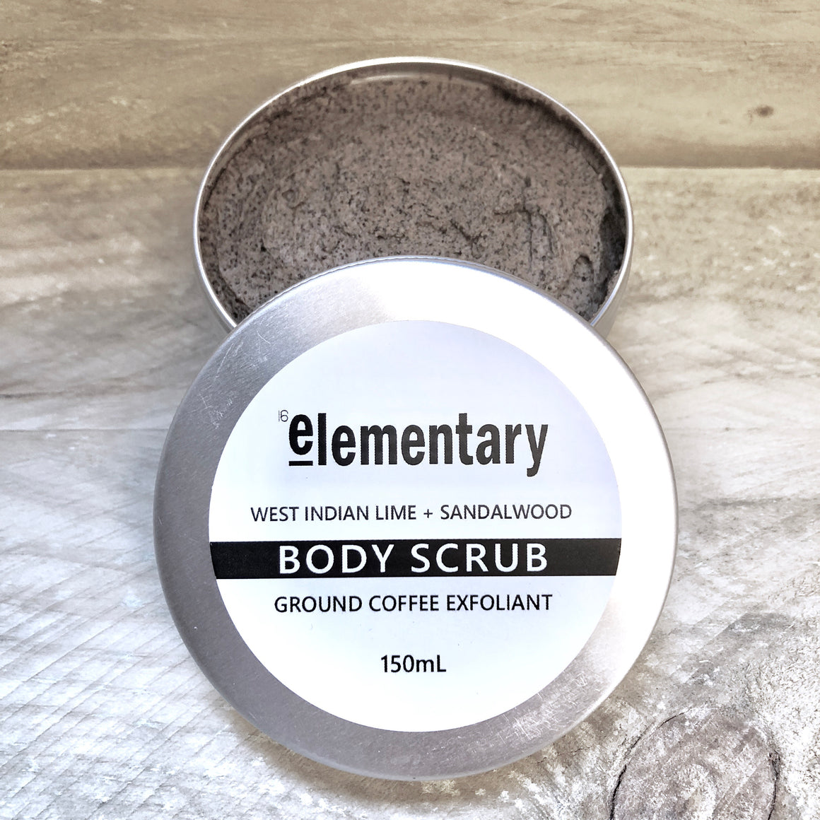 EXFOLIATING SCRUB | Real Ground Coffee & West Indian Lime - KISS Skin Care | Australia, Scrubs & Exfoliants