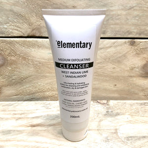 CLEANSE | Medium Exfoliating Facial Cleanser with Cherry Seed Powder - KISS Skin Care | Australia, Scrubs & Exfoliants