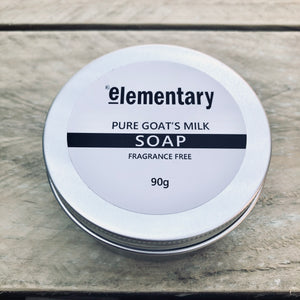 SOAP | Goat's Milk Gentle Cleansing Bar (Fragrance Free) - KISS Skin Care | Australia, Bath & Beauty Products