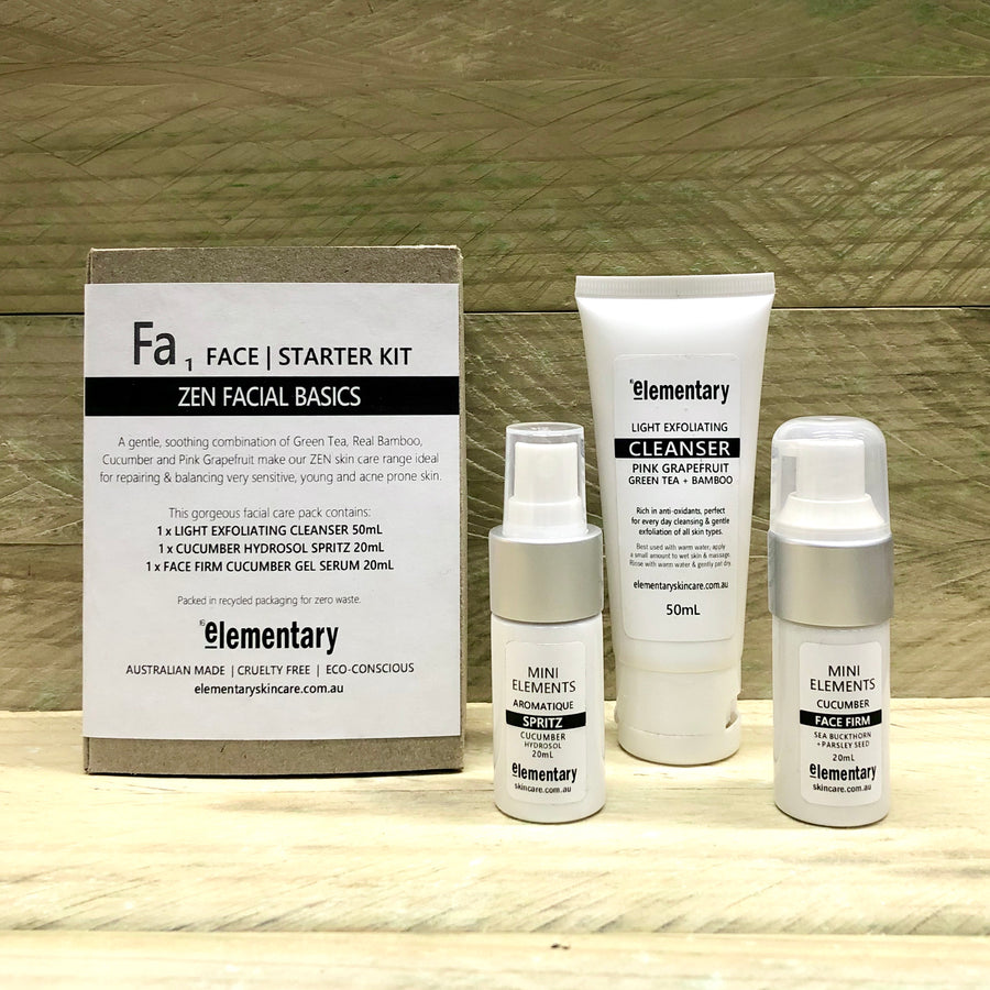 PACK | Facial Basics - KISS Skin Care | Australia, Elementary Packs