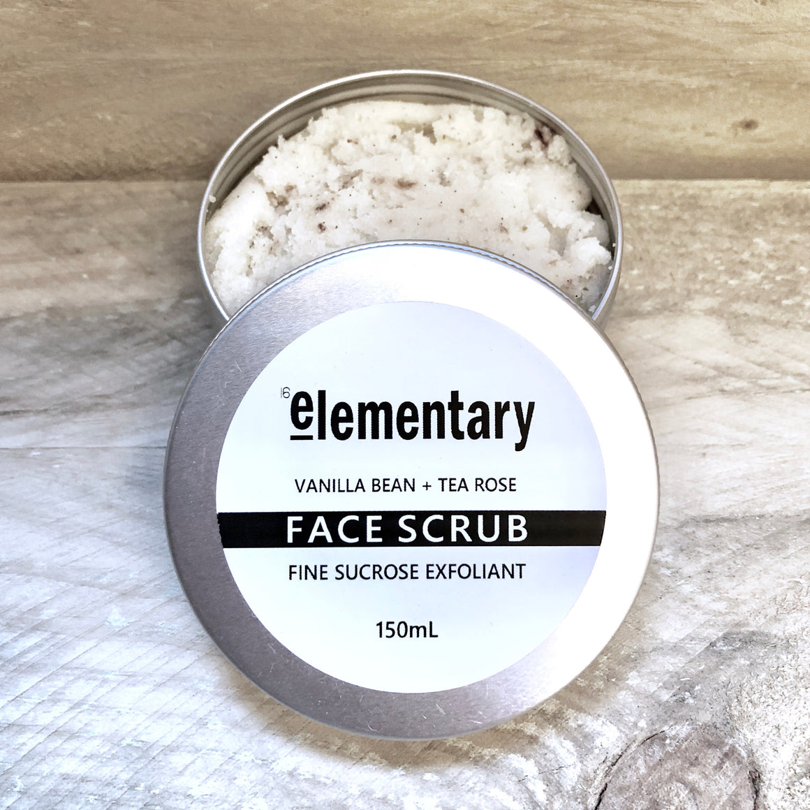 SCRUB | Exfoliating Tea Rose + Vanilla Bean with Fine Sucrose - KISS Skin Care | Australia, Scrubs & Exfoliants