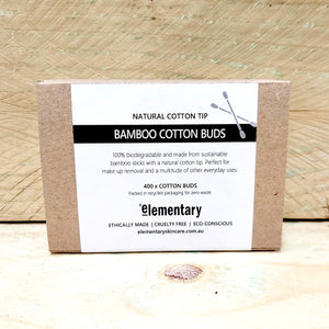 BODY | Bamboo Cotton Buds - ELEMENTARY | Australia, Body Care