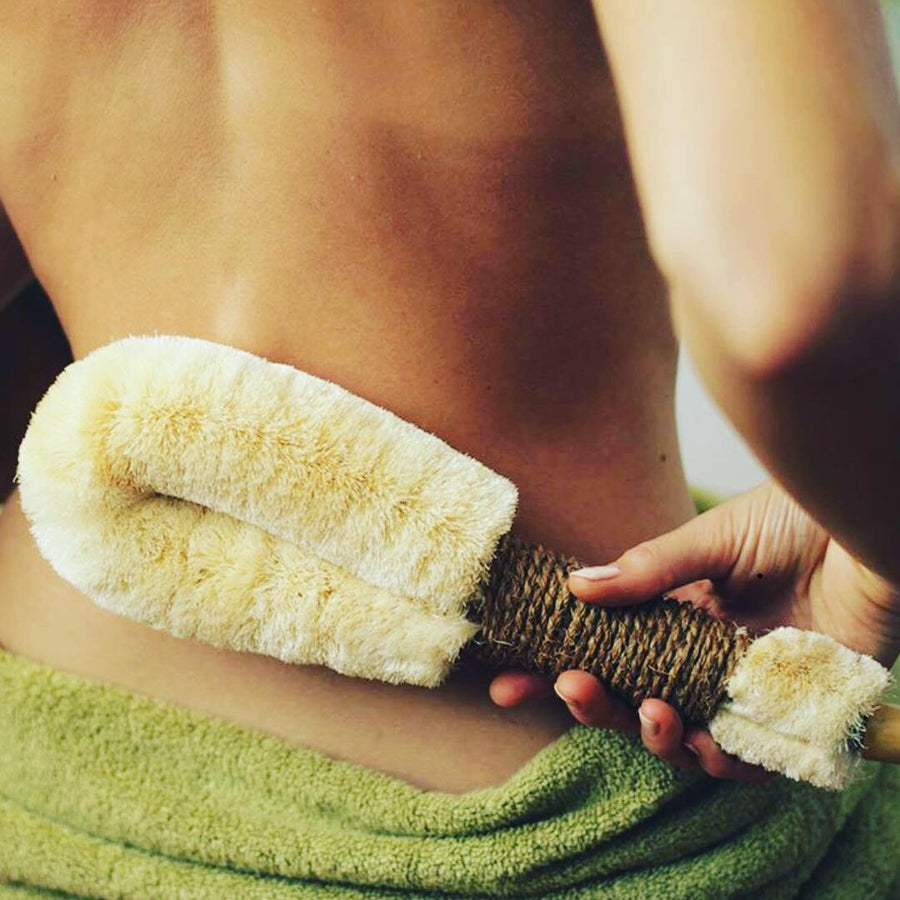 BODY BRUSH | Natural Sisal Body Brush (Large) - KISS Skin Care | Australia, Body Brushes, by Eco-Max