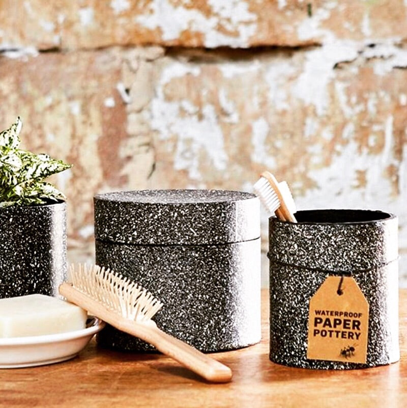 HOME | Paper Pottery Bathroom Accessories