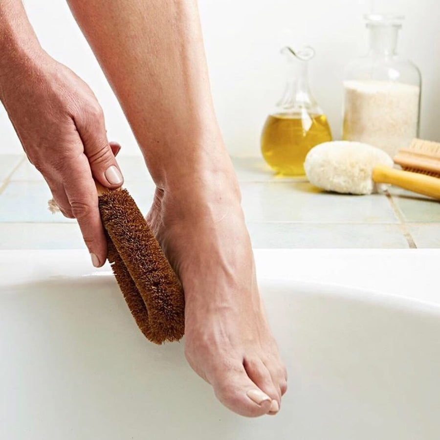 BODY | Coconut Foot Brush - KISS Skin Care | Australia, Body Brushes, by Eco-Max