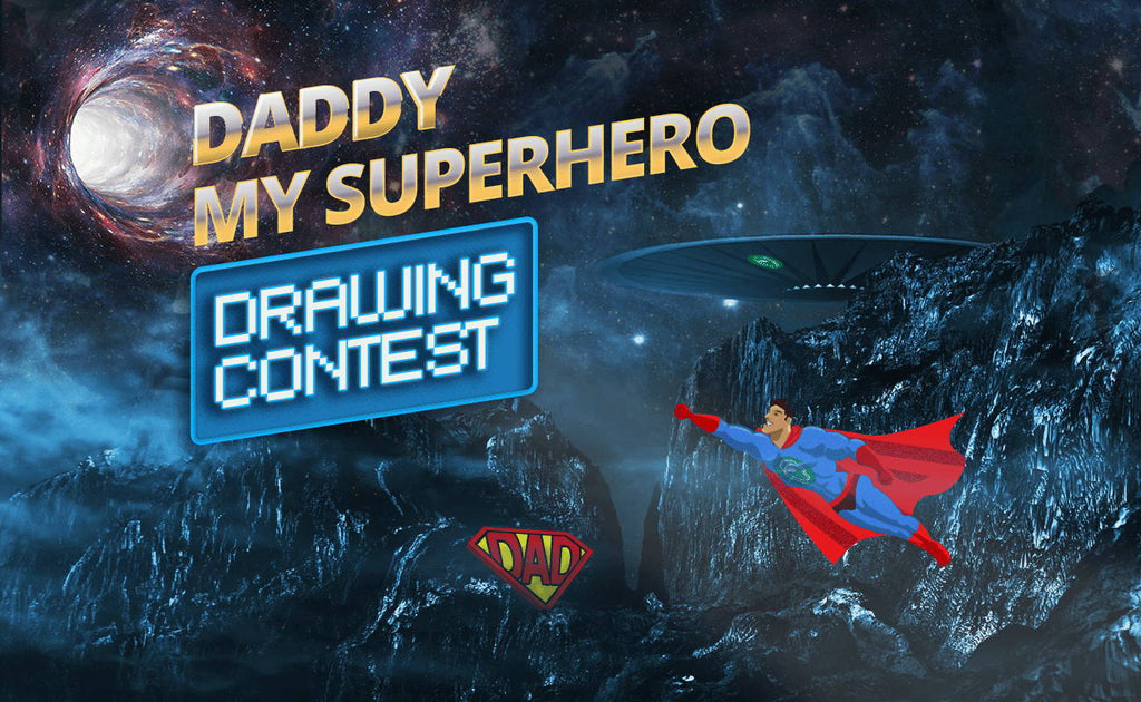 """Daddy, My Superhero"" Drawing contest - [Ended]"