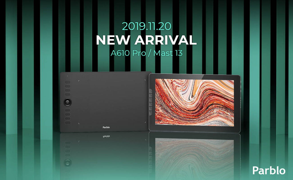 Parblo is Releasing the A610 Pro And Mast13 [ENDED]