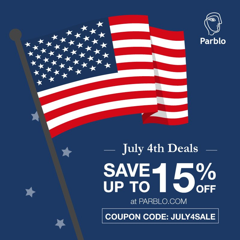 July 4 Deals at Parblo