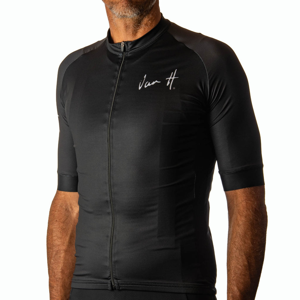 Men's Black logo jersey