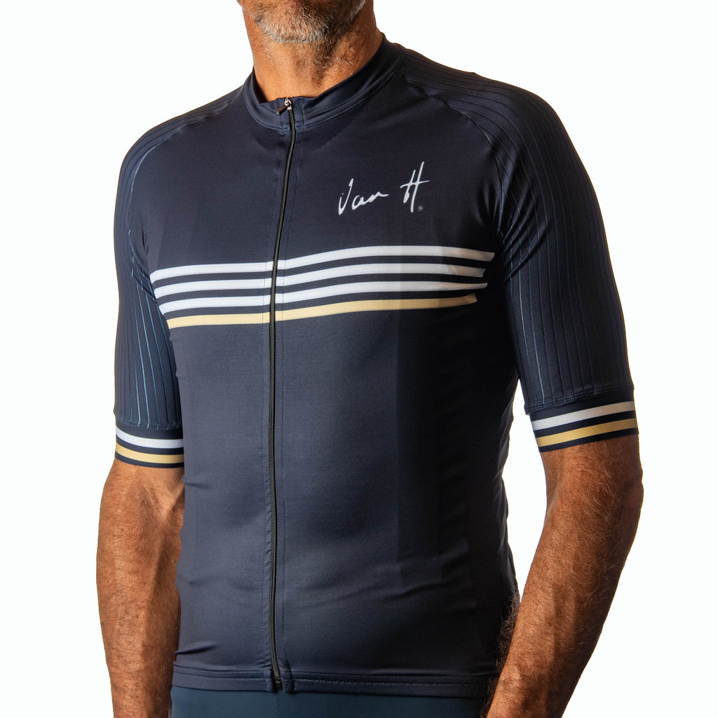 Men's Navy Gold Stripe jersey