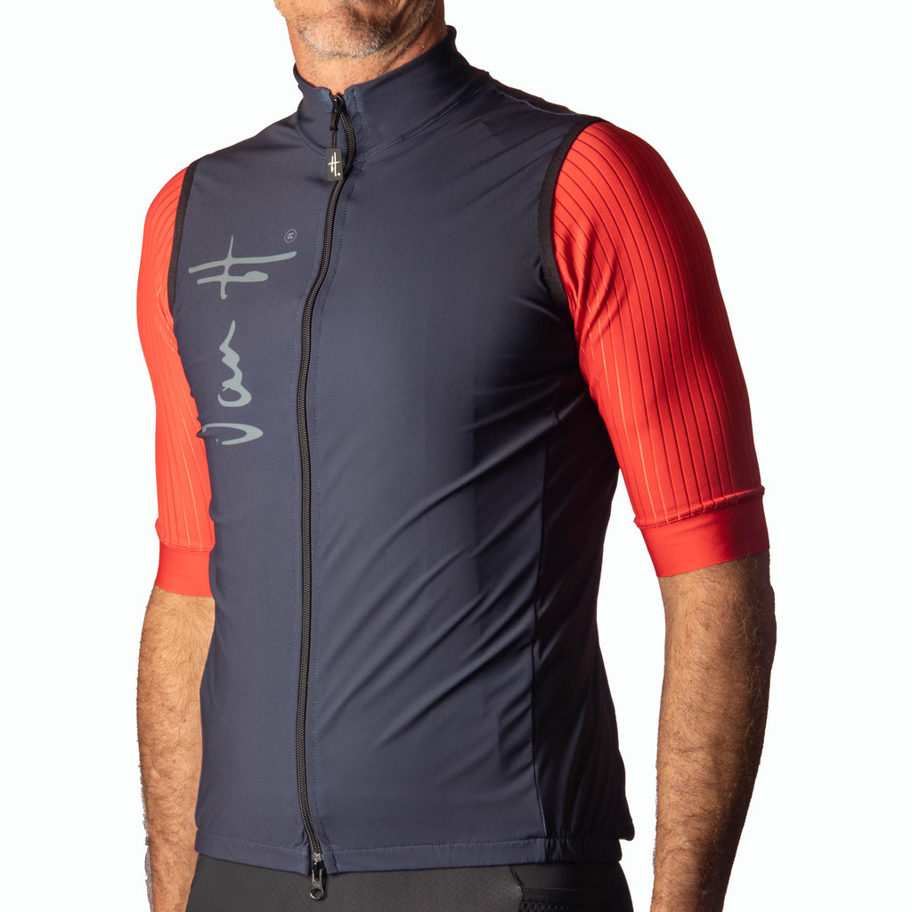 Men's Navy Summer gilet