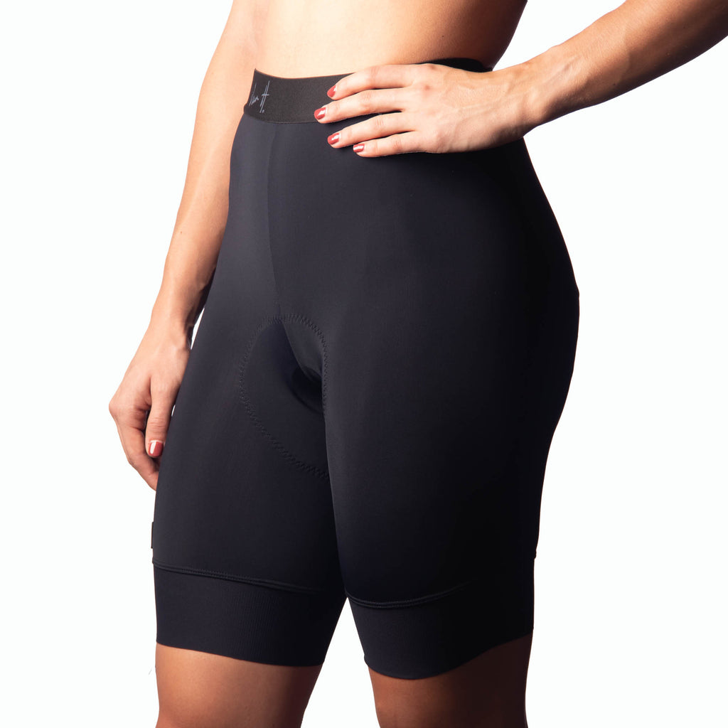 Women's Black Cycling Tight