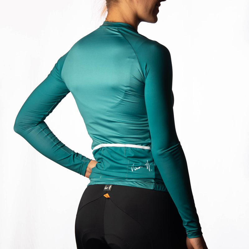 Women's Jade long sleeve cycling jersey