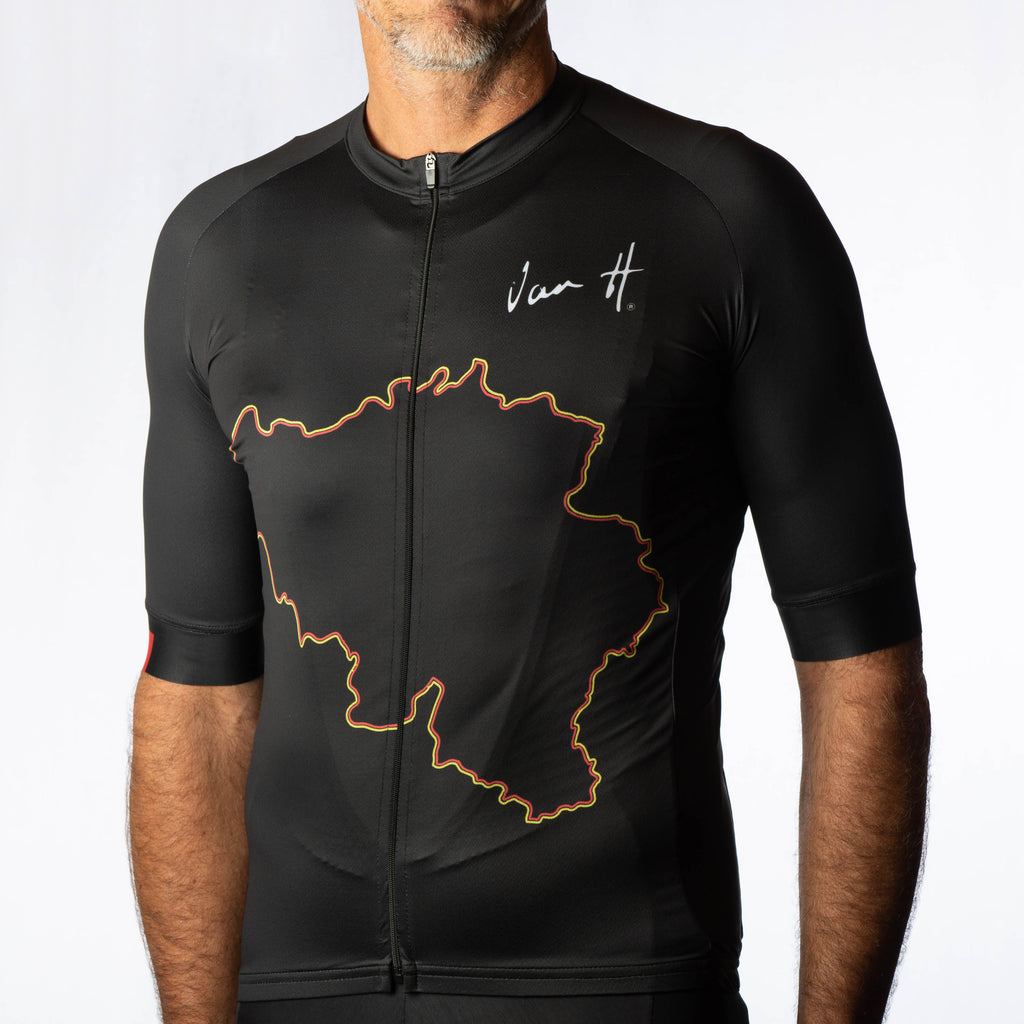 Men's Black Belgium jersey