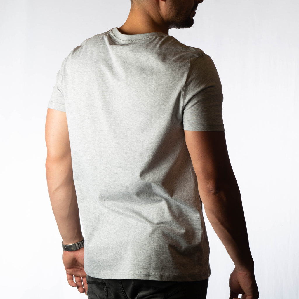 Men's Grey Teal T-shirt