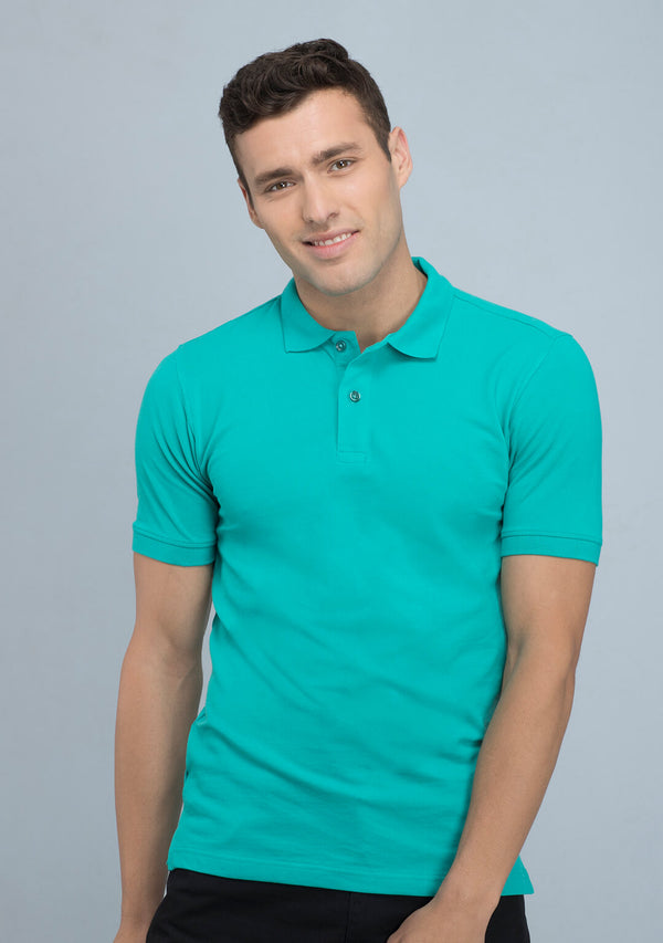 Sea Green Polo T-shirt