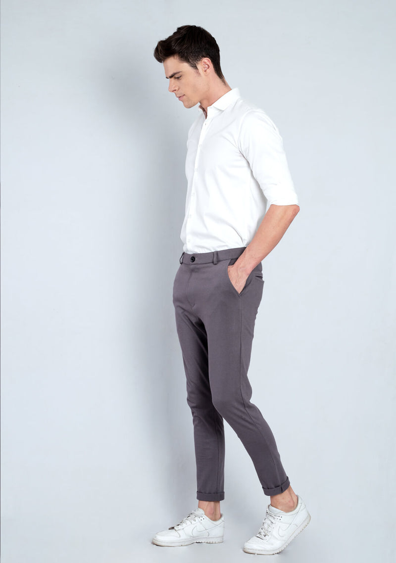 Mens Pants in Graphite Colour