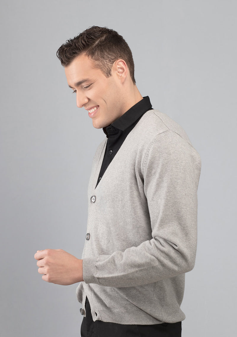 grey colour cardigan